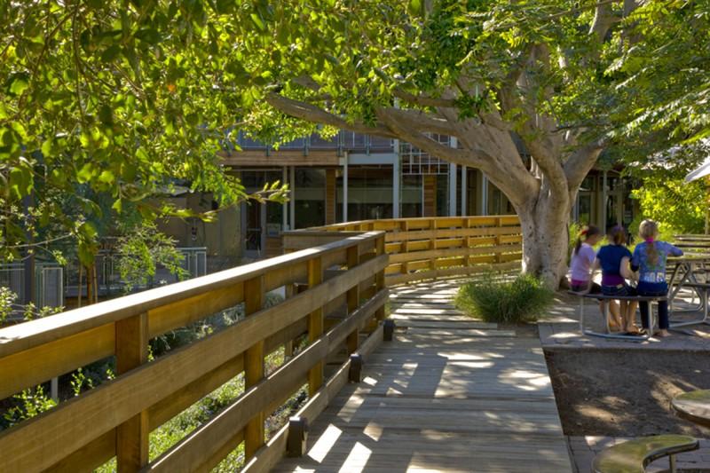 """""""school garden"""", """"school deck"""", """"wooden deck"""", """"modern garden"""", """"caliofrnia landscape"""", """"california garden"""", """"los angeles garden"""", """"place landscape"""", place design"""", """"victoria pakshong"""", """"sustainable garden"""", """"california native garden"""", """"drought tolerant garden"""""""